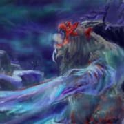 凍て付く刃纏う紅肌の雪鬼獣 ゴシャハギ