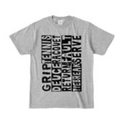 Tシャツ | 杢グレー | Super☆Tennis_word