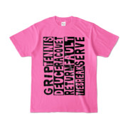 Tシャツ | ピンク | Super☆Tennis_word