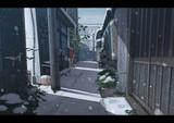 雪の日常風景