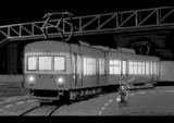 電車とゴルシ