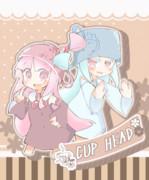 【CUP HAED】頭ティーカップお姉ちゃんと葵ちゃん