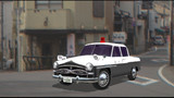 初代クラウンのパトカー