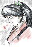練習鳳翔さん