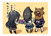 暗躍する黒頭巾とオオカミ