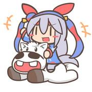 ウマ娘×マキバオーコラボ記念絵