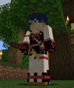 【Minecraftスキン】原神 香菱