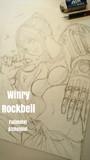 ウィンリィ・ロックベル - 鋼の錬金術師【下描き】