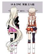 【立ち絵】背面 IA & ONE