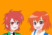 似ている2人? 猪熊陽子と千葉エリカ