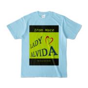 Tシャツ   ライトブルー   Alvida_Yellow☆Kiss