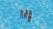 戦艦艦隊発見