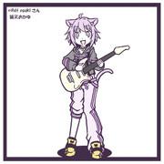 猫又おかゆ × ギター