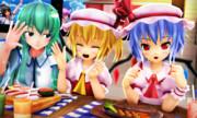 【レミフラ!】さなえお姉さんと お寿司を食べるの…♡