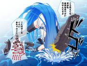 「五月雨(艦これ)」210826 ジャックオーチャレンジ<追記2:210901>