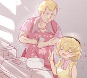 いやあ鉄平のために料理を教える沙都子は良かったですね