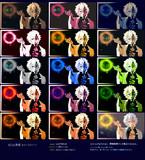 【MME】ikClut改変 カラーストーン コントラスト強めサンプル