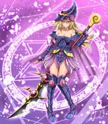 超魔道剣士‐ブラックパラディンガール