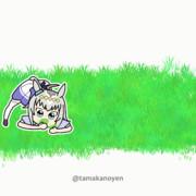 【GIFアニメ】食事制限の反動でついに芝を食べ始めたオグリ