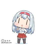 翔鶴 艦これワンドロ 210831