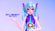 【MMDxMMExRay-MMDxWine】 初音ミク誕生祭2021