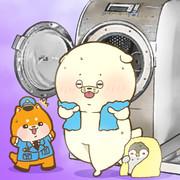 衣類乾燥機の日でした