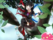 木に登るMIMI姉貴