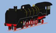 英国鉄道を走るD51制作中