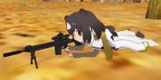 海軍本部機密特殊部隊SWORD狙撃手ヒグマ