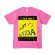 Tシャツ   ピンク   Alvida_Yellow☆Kiss