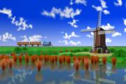 きかんしゃトーマス 風車用地形