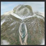 風景画 ミュラー山の頂