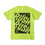 Tシャツ | ライトグリーン | RUSH_RUSH∞夏