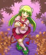 【秋】クララと紅葉!