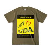 Tシャツ   オリーブ   Alvida_Yellow☆Kiss