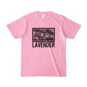 Tシャツ   ピーチ   LAVENDERは咲く