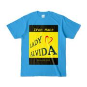 Tシャツ   ターコイズ   Alvida_Yellow☆Kiss