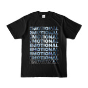 Tシャツ   ブラック   EMOTIONAL☆SKY