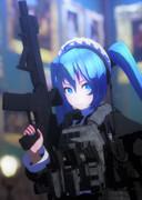 武装メイドミク