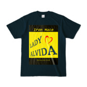 Tシャツ   ネイビー   Alvida_Yellow☆Kiss