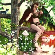 翠翼の女神