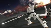 【MMDロボアニフェス2021】バスターランチャーを構えるエルガイム(Mk-I)は熱い