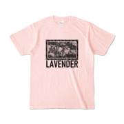 Tシャツ | ライトピンク | LAVENDERは咲く
