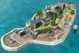 軍艦島でFPS対戦「激突!バトルシップ・アイランド」を開発中