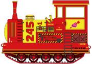 無限軌道式機関車