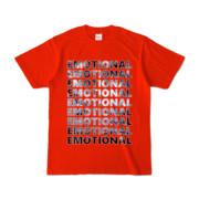 Tシャツ   レッド   EMOTIONAL☆SKY