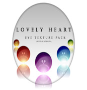 【Eye Texture Pack Download】Lovely Heart
