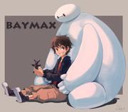 ベイマックスのイラスト