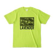 Tシャツ | ライトグリーン | LAVENDERは咲く