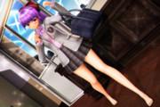 【パチュリーさん萌えリンク】登校の時も おみあしさんサービス…♡